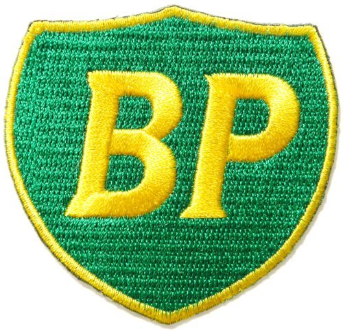 BP Motor Oil Gas Service Station Pump Logo Sign Racing Patch Iron on Applique Embroidered T shirt Jacket Costume BY - T-shirt Embroidered Nascar