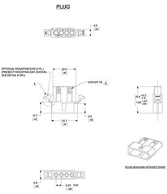 6 Pin Molex