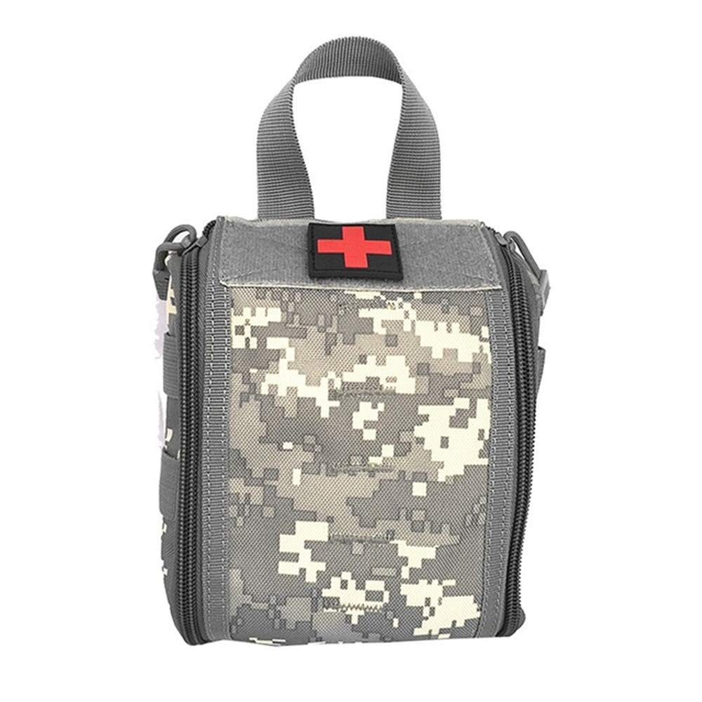 1000D Molle Pouch EMT Medical Utility Medical Accessory Bag Waist Pack Survival Medic Bag Nylon Pouch LIUSIYU Tactical First Aid Waist Pack