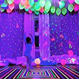 30 Pack LED Light Up Balloons, Premium Mixed-Colors Flashing Party Lights Lasts 12-24 Hours, Ideal for Parties, Birthdays and Wedding Decorations, Fillable with Helium, Air - by GIGALUMI