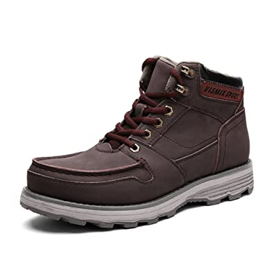 Men's boots Martin/British high shoes/Round casual shoes/Big head tooling boots