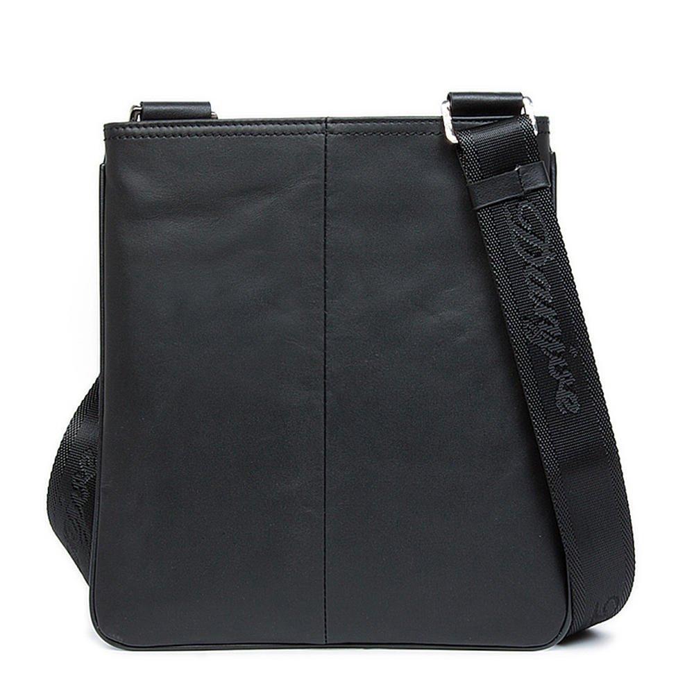 DANJUE mens bag top layer leather ultra-thin shoulder Messenger bag casual bag men bag tide bag D90070-4 brown