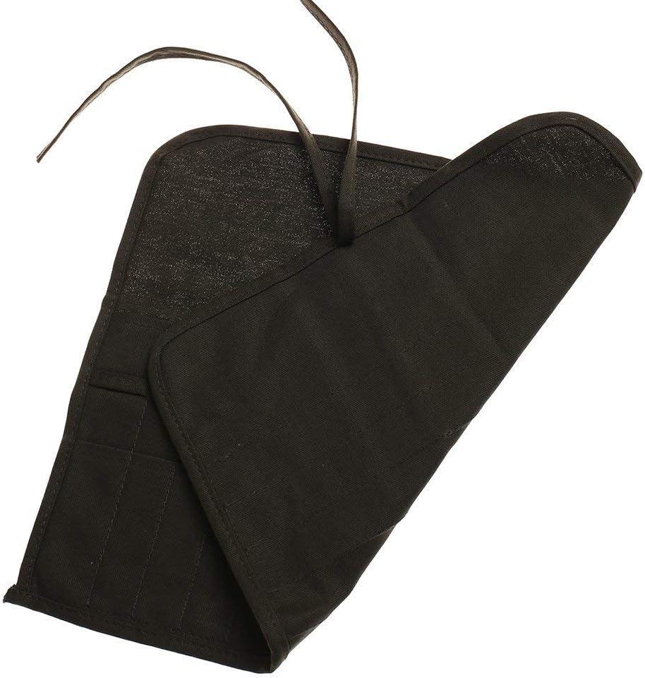 Leinen-Tasche mit 22 F/ächern LANGING 1 x Pinselhalter f/ür /Ölfarbe