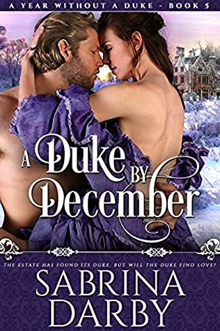 book cover of A Duke By December