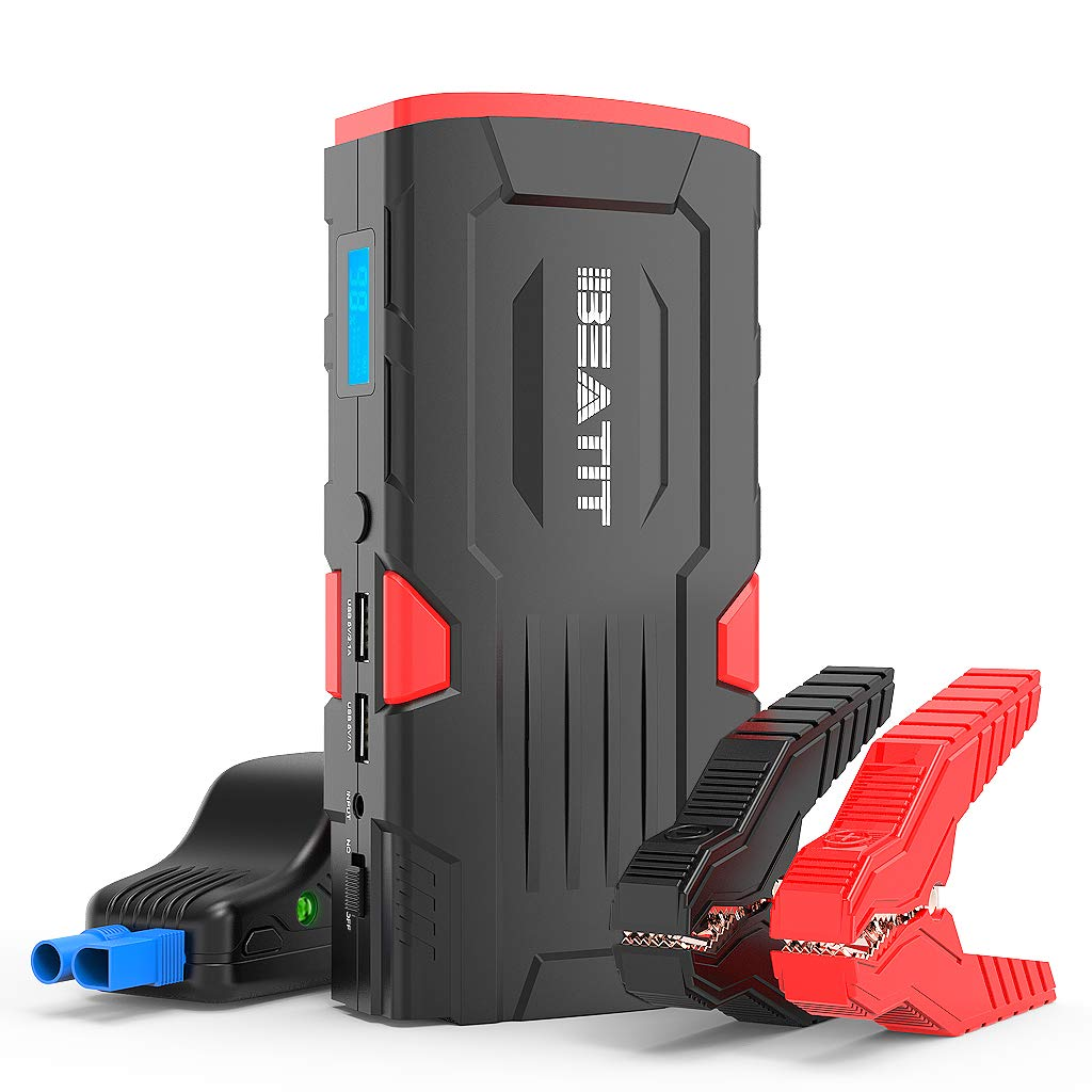 Beatit BT-D11 800A Peak 18000mAh 12V Portable Car Jump Starter (up To 7.5L Gas Or 5.5L Diesel) With Smart