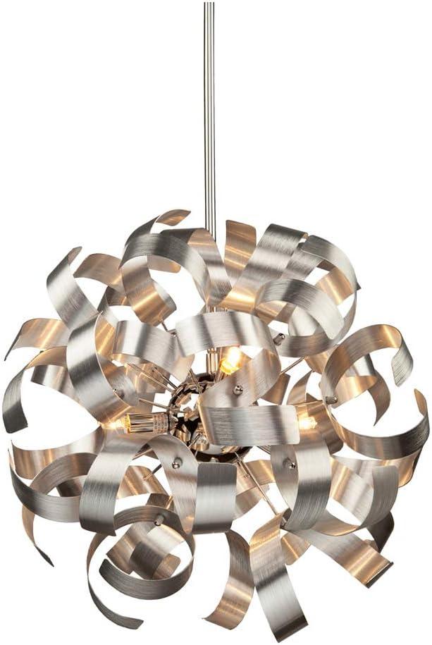 Artcraft Lighting Bel Air Pendant, Chrome