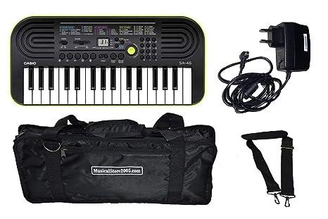 tastierina Casio sa46 + Cargador Casio + Bolsa Dam ()