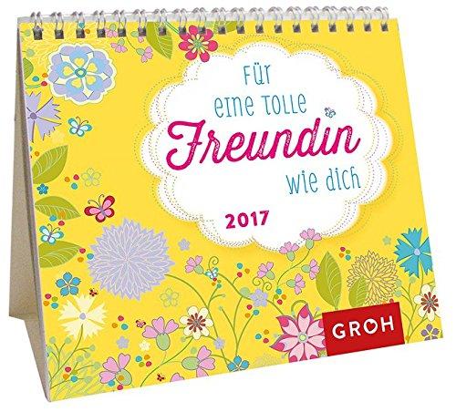 Für eine tolle Freundin wie dich 2017: Mini-Monatskalender