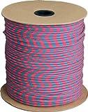 Parachute Cord Cotton Candy RG1034S Nylon Pink/Blue 1000'
