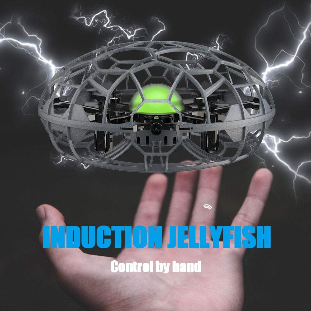 SueSupply Mini UFO Drone Toys, Hand-Controlled Quadcopter Aircraft,Suspension Aircraft with 360° for Kids, Toddlers Boys Girls by SueSupply (Image #1)