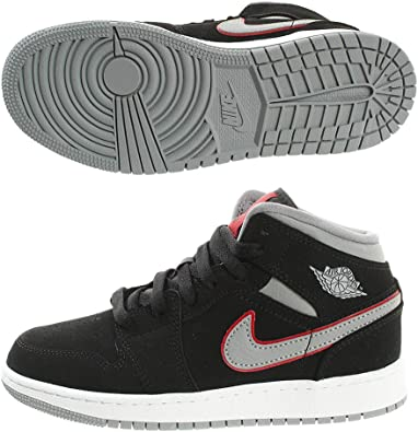 nike mid chaussures gymnastique gris