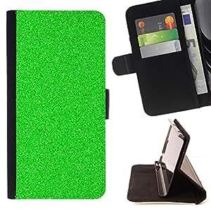 Planetar® Modelo colorido cuero carpeta tirón caso cubierta piel Holster Funda protección Para HTC One A9 ( Glitter visión nocturna estático Spec Op )