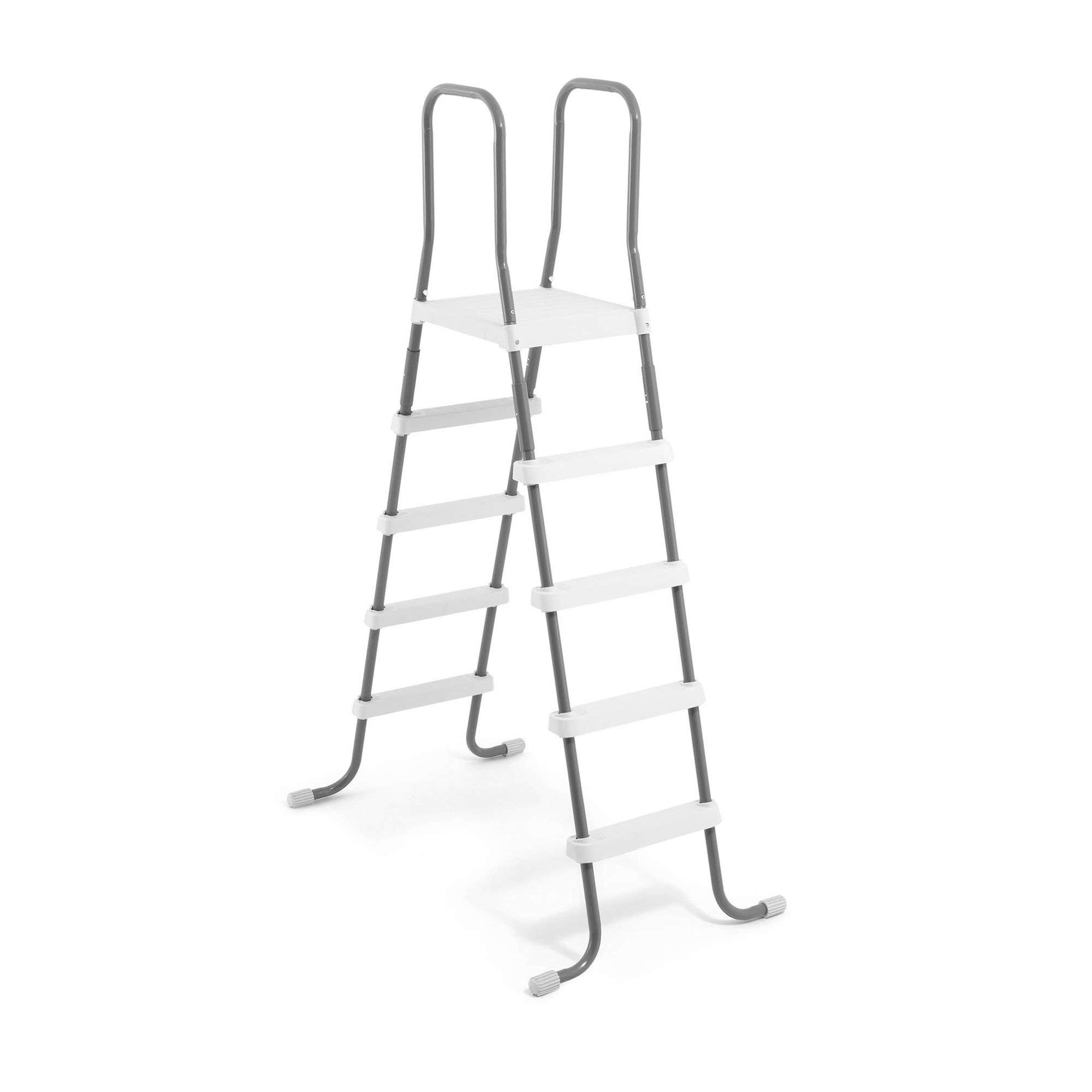 Intex Steel Frame Above Ground Swimming Pool Ladder for 52 Inch Wall Height Pools by Intex