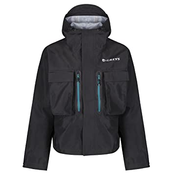 992026756f3 Greys Cold Weather 3 Layer Climatex Waterproof Wading Jacket, Grey, Medium