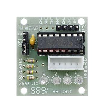 5PCS Drive Test Module Board 12V Stepper Motor 28BYJ-48 ULN2003 5Line 4 Phase