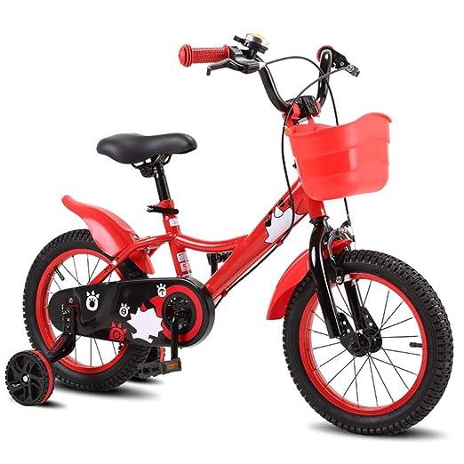 YUMEIGE Bicicletas Bicicletas para niños Cuadro de acero de alto ...