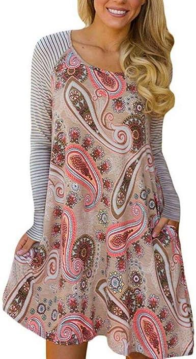 Vestidos De Camisa Elegante Moda Mujer Vestido Otoño ...