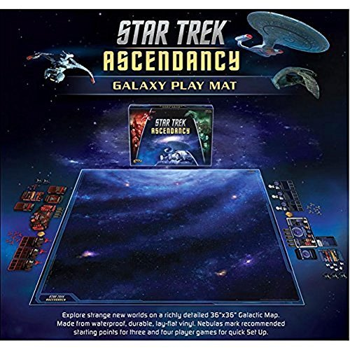 Gale Force Nine Star Trek Ascendancy Play Mat Game by Gale Force Nine