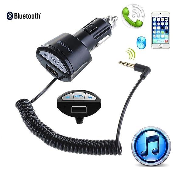 Amazon.com: A2DP 3.5mm Car Handsfree Bluetooth