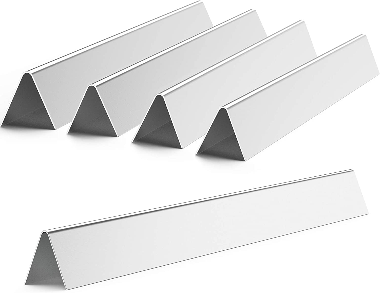 21 1//2 X1 3//4 Inches onlyfire Stainless Steel Gas Grill Replacement Flavorizer Bars//Heat Plate//Heat Shield for Weber Genesis and Spirit Grills Models Set of 5