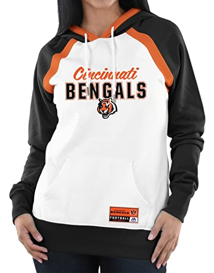 Image Unavailable. Image not available for. Color  Majestic Cincinnati  Bengals Women s NFL Heritage Pullover Hooded Sweatshirt 91b234c80e
