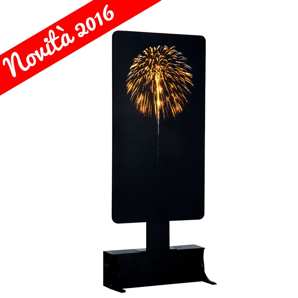Yellow Fireworks Lemax Christmas Village Accessory - New For 2016