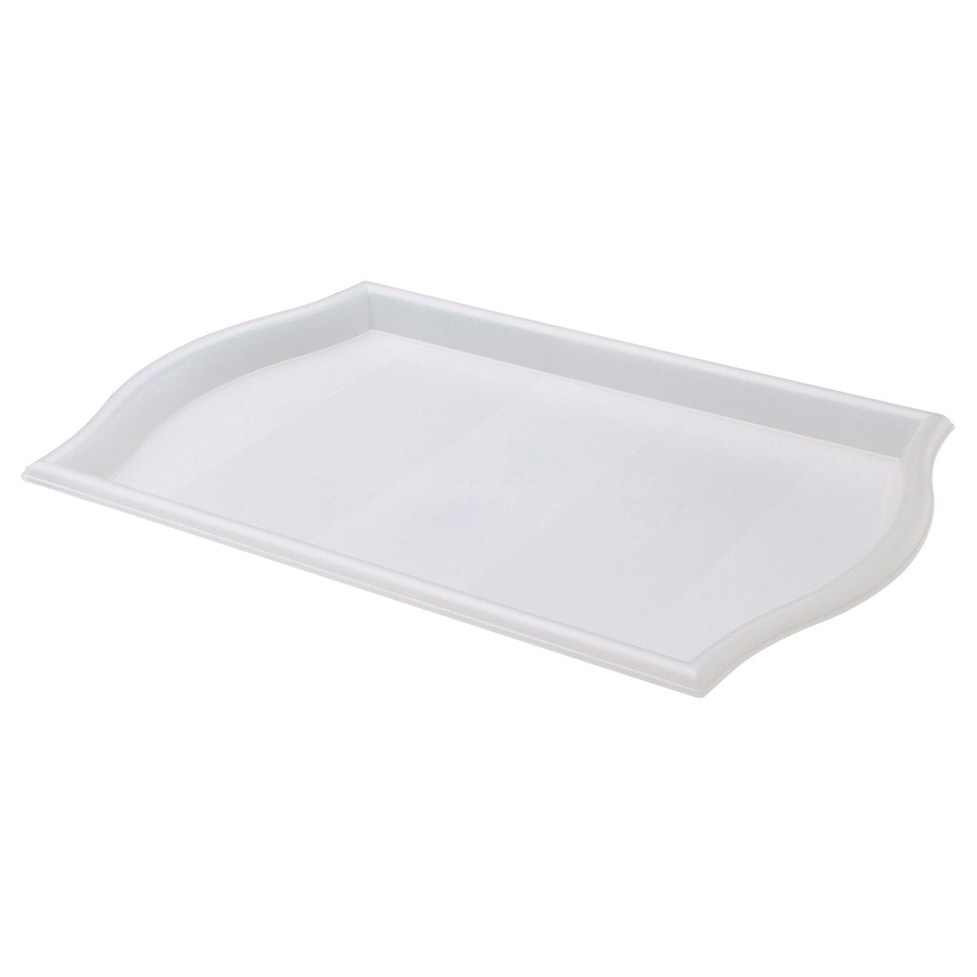 IKEA SMULA Tray- [FAMILY PACK of 4] TV Tray, Lap Tray, Patio, Breakfast in Bed - Translucent Polypropylene by IKEA