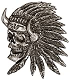 Hot Leathers Indian Skull Pin by Hot Leathers