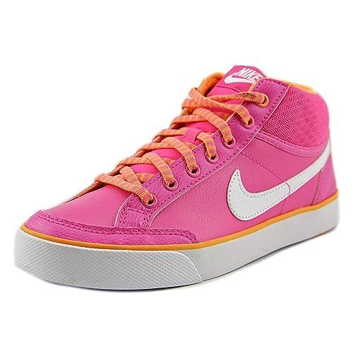 purchase cheap 836dc 18d1c Nike Capri 3 Mid LTR, Scarpe da Tennis Unisex - Bambini: Amazon.it ...