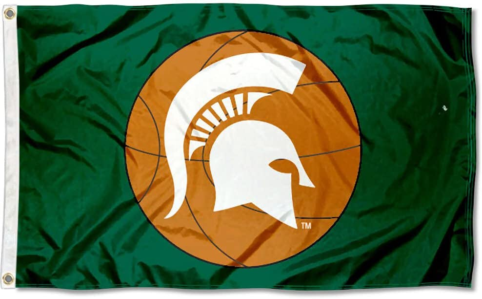 Michigan State Spartans Double Sided Flag College Flags and Banners Co