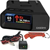 Uniden R7 Extreme Long Range Laser/Radar Detector and Smart Hardwire Kit Alerting Device Bundle. Built-in GPS, Dual-Antennas