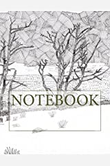 "Notebook: Lake Trees, Rydal Water, Lake District. Plain (8.5"" x 11""): Plain Paper Notebook (Augmented Reality Colouring Books of Great Britain) (Volume 1) Paperback"