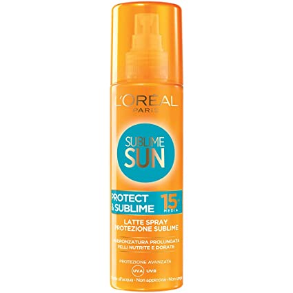 L'Oréal Paris Spray Protection Solaire FPS 15 200 ML: Amazon.fr ...