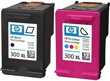 HP 300 X L negro y color Cartuchos de tinta en papel de embalaje (Pack de 2): Amazon.es: Informática