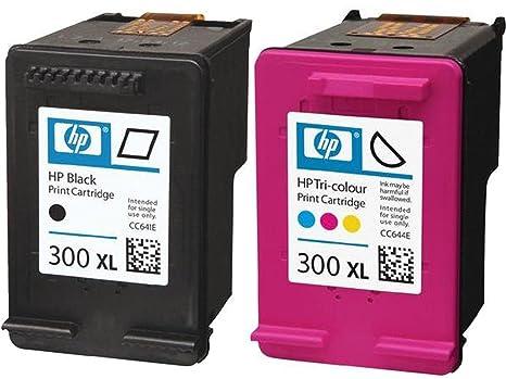 HP 300 X L Negro y Color Cartuchos de Tinta en Papel de ...