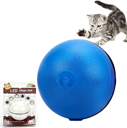 boogift Juguetes Gatos de Bola de Gato Juguete Interactivo para ...