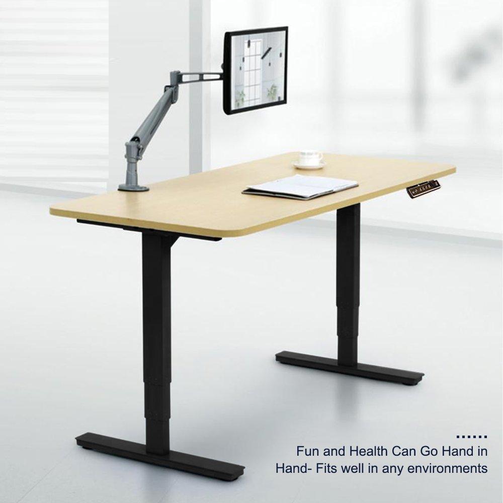 Amazon.com: CO-Z Electirc Adjustable Height Stanidng Desk Frame ...