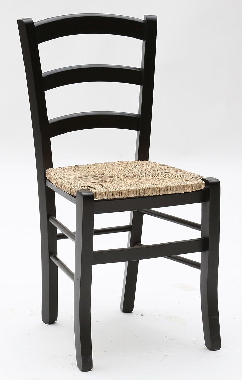 ArredinItaly - Juego compuesto de 2 sillas de madera de colores ...