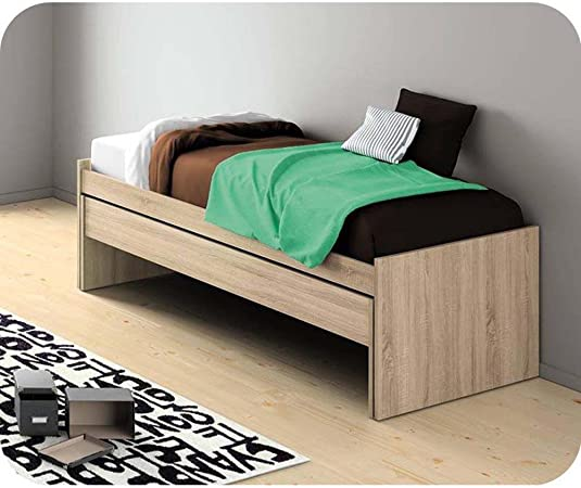 Del Paquete extensible cama Planet roble Color 90 x 200 cm ...