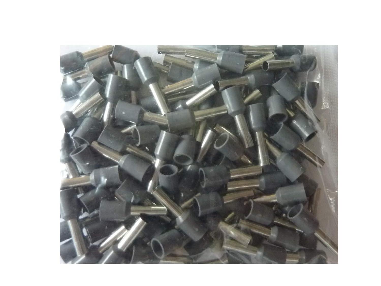 500 Stück SK-DV Aderendhülsen 0, 75mm² x 6 mm grau