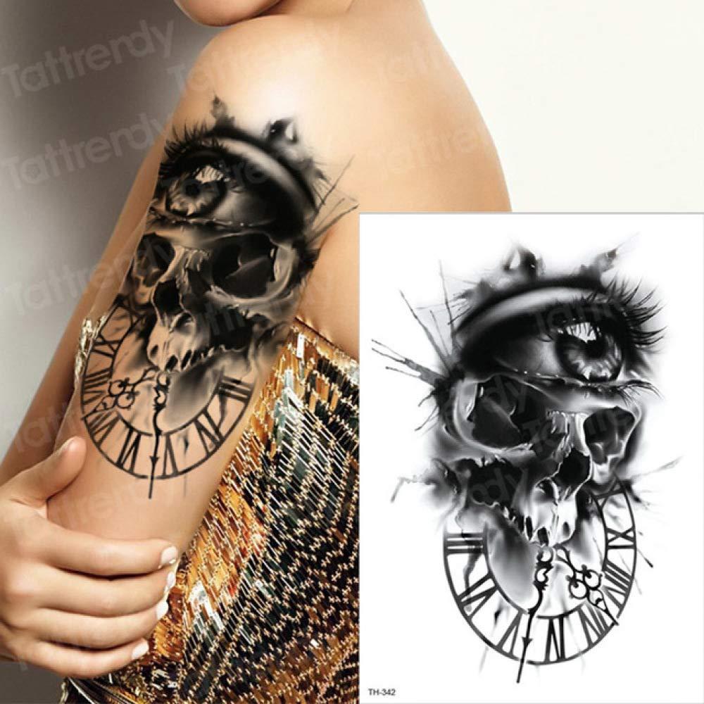 3 Piezas Ojo Tatuaje Hombre Tatuaje Duradero Mujer Cara Tatuaje ...