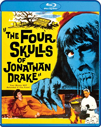 The Four Skulls Of Jonathan Drake [Blu-ray]