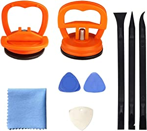 Screen Repair Tool 9-Piece Set, Heavy-Duty Suction Cup, pry Tool, Suitable for iPhone, iPad, iMac, MacBook, Tablet, Laptop, Samsung and Other LCD Screen Opening Tools