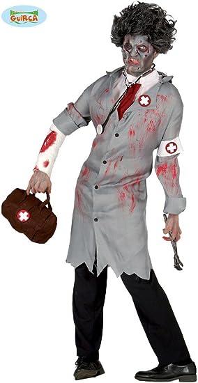 Zombie Kinderkostüm Doktor Chirurg Kinderkostüm Halloween Horror Untoter Arzt