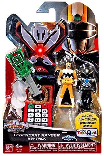 Power Rangers Galaxy (Power Rangers Super Megaforce Legendary Ranger Key Pack Roleplay Toy [Lost Galaxy])