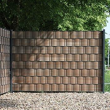 Kunststoff Sichtschutz videx hart kunststoff sichtschutz streifen premium 9 5 x 250 cm