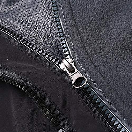 Cappuccio Piedi Capispalla A Antivento Alpinismo Cappotti Mens Viaggio Con Black Jingrong Esterno Abbigliamento Ispessimento Giacche vOXqUwORfF