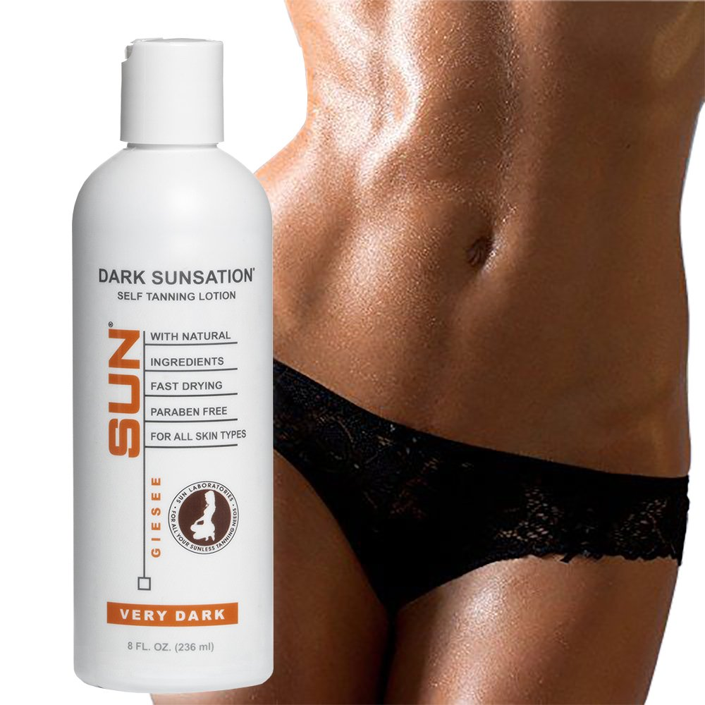 Self Tanning Lotion Dark Tone – Sunless Self Tanning Lotion Very Dark – Sunless Bronzer Flawless Fake Tanning Gel Lotion Sunless Tan Cream Instant, Fast Stickers Packaging May Very