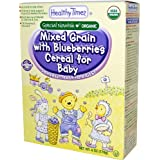 Healthy Times, Organic Mixed Grain with Blueberries Cereal for Baby, 6 oz (170 g)