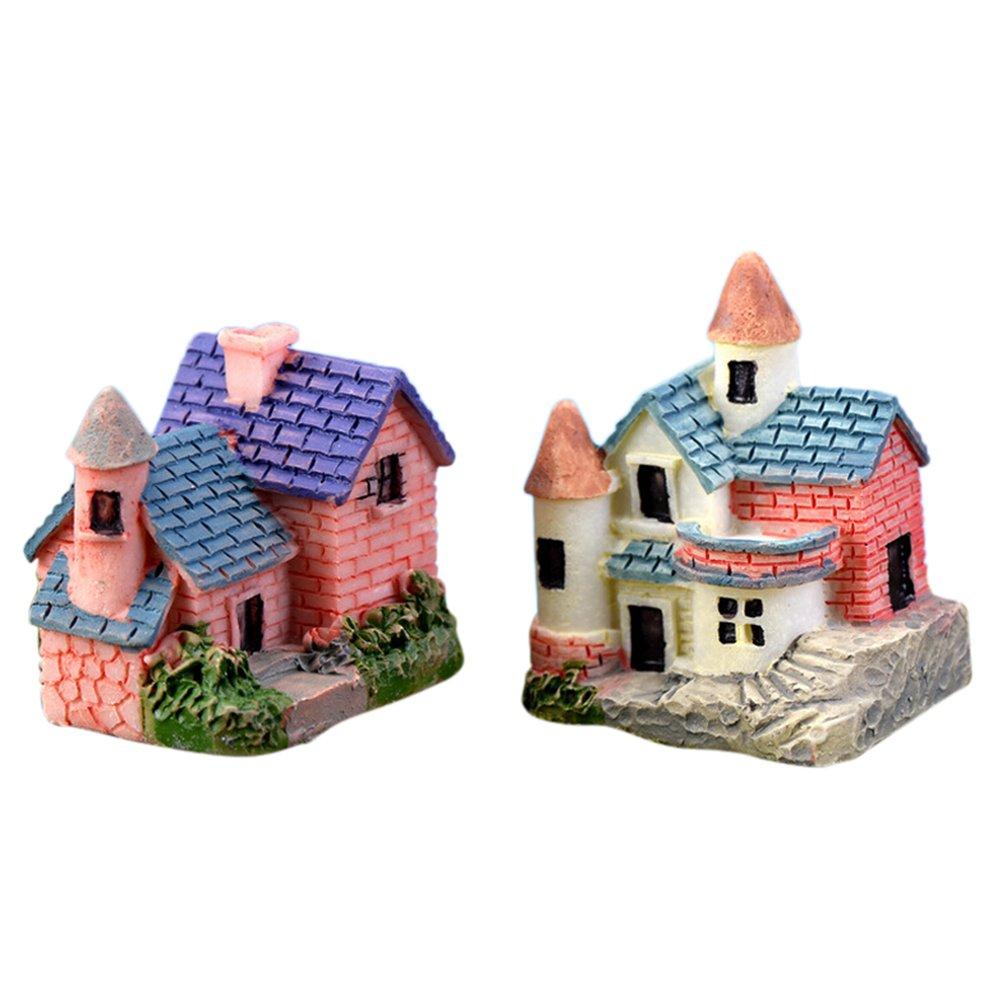 Micro Mini Brick Hill House Accessories Miniature Dollhouse FAIRY GARDEN